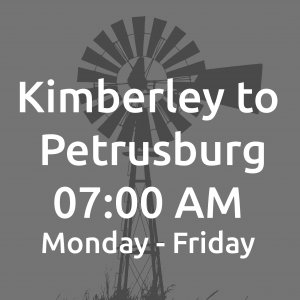 Kimberley to Petrusburg